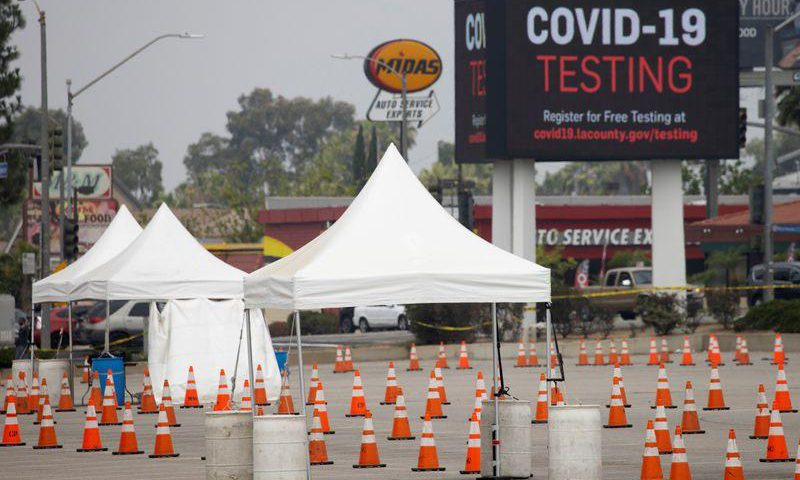 California reports nearly 12,000 COVID cases, biggest increase since pandemic started